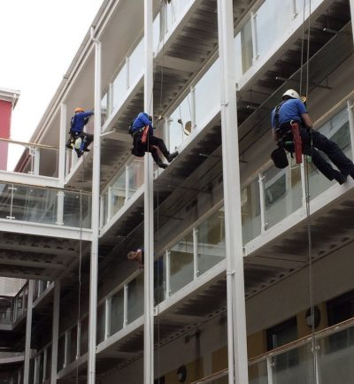 Roper cleaning abseiling cleaning window cleaners - Ultra Cleaning Service covers the North West