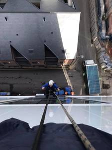 Newly Qualified Rope Access Window Cleaner