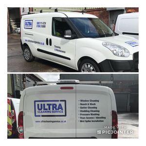 Ultra Cleaning Service New Van