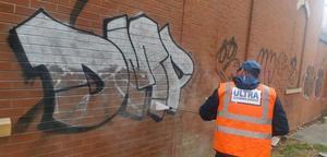 June blog UCS Graffiti removal